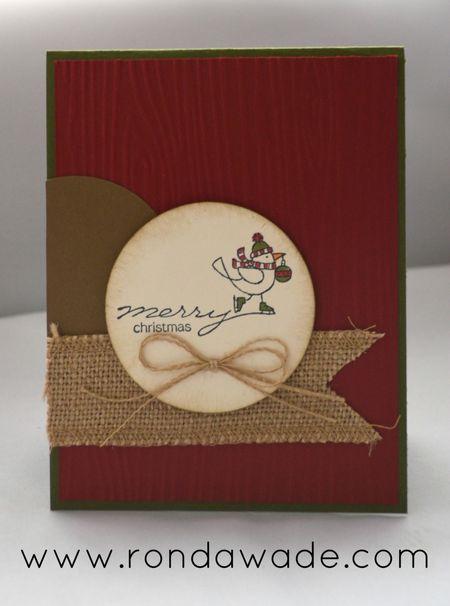 Christmasbirdcard