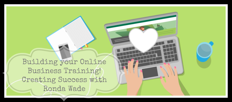 Building online business training